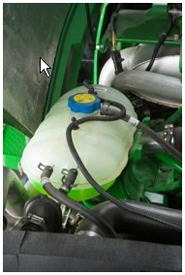 6D Series coolant tank
