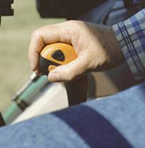 Hi/Lo selector on gear lever