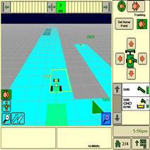 Ernteautomatisierung und -logistik in Kombination mit gemeinsamer Nutzung von Bedeckungskarten