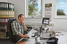 Nutzung von JDLink™ Managementwerkzeugen im Büro