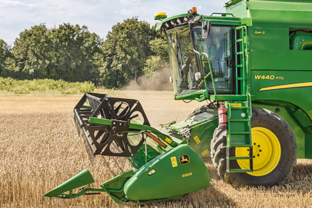 Erntevorsatz 600R für W440 und W440 PTC