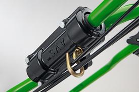 AVS-Komponenten an professionellen handgeführten Mähern