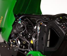 Leichter Zugang zum Motor