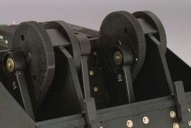 Riemenantrieb des Aerifizierkopfes