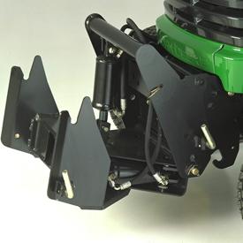 Quick-Hitch-Frontkraftheber und hydraulischer Hub