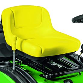 Sitz mit halbhoher Rückenlehne