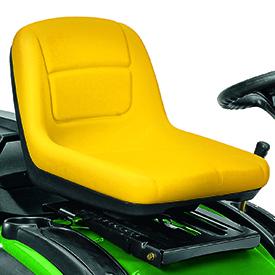 Sitz mit hoher Rückenlehne (shown on X155R)