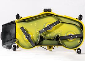 137 cm Accel Deep Mähwerk, Unterseite