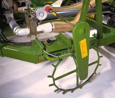 Mechanisches Dosierantriebssystem mit Spornrad