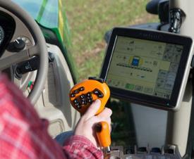 Intelligente Steuerung der Pflanzenschutzspritze steigert die Ausbringgenauigkeit