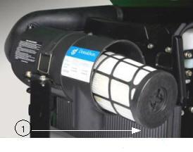 Einfache Entnahme des Filterelements