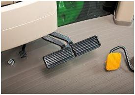 Fußbremse mit integrierter AutoClutch-Funktion
