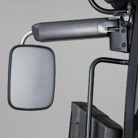 Elektrisch einstellbare Spiegelköpfe mit manuell steuerbarer Ausfahrfunktion