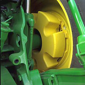 635- kg-Gewicht auf der Innenseite (1400 lb)