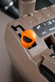PowerShift-Getriebe mit Efficiency Manager-Schalthebel