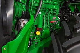 Position Motorölstandsprüfung/-einfüllung