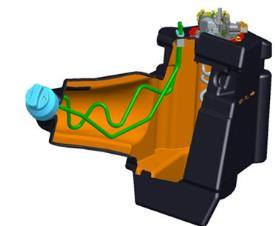 DEF-Tank-Einfüllstutzen