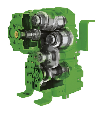 e18 PowrShift™-Getriebe bietet maximale Kraftstoffeffizienz