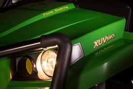 XUV590i mit serienmäßiger Servolenkung
