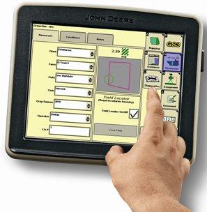 Documentación en el monitor GreenStar 3 2630