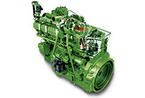 W660 con motor John Deere PowerTech PSS de 9,0 l (Fase IV)
