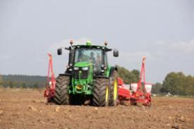 Control de unidades de sembradora