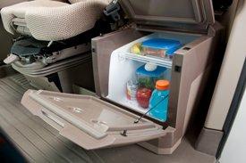 Almacenamiento y refrigerador activo