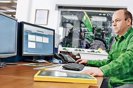 Maximice el tiempo de actividad con la comunicación máquina-oficina