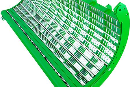 Barra desbarbadora de acoplamiento rápido que mejora la productividad en cebada hasta un 10 %