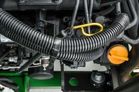 Motor diésel de tres cilindros
