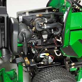 Acceso de mantenimiento con la cámara de aire levantada