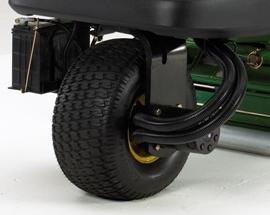 Sistema de tracción a 3 ruedas a tiempo completo