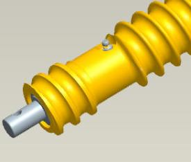 Extremo del rodillo MTSpiral
