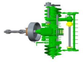 Componentes de transmisión de gran tamaño
