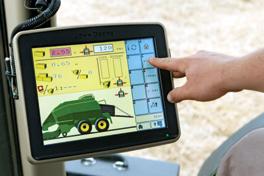 El monitor GS 2630 se adapta a los requisitos de los agricultores más exigentes y puede pedirse a través de la lista de precios AMS