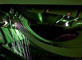 Iluminación LED de las agujas