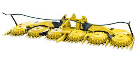 Unidad cosechadora rotativa 490plus