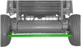 Sistema de descarga de paca