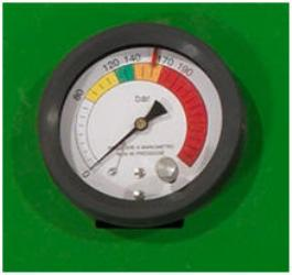 Manómetro y ajuste de densidad