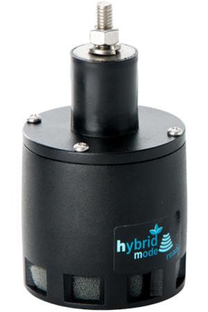 Sensor de barra de pulverización en modo híbrido