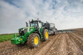 Tractor 6M con sistema PFC