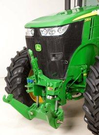 Tractor de la serie 7R con elevador frontal