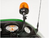 9R con luz de aviso giratoria