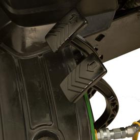 Controles de pedal Twin Touch
