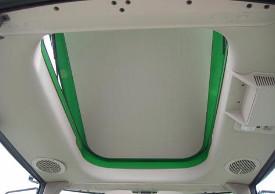 Inserto de enganche de bola (80 mm [3.14 in.] y placa de sujeción - enganche hidráulico para remolque John Deere (Series 6M, 6R)