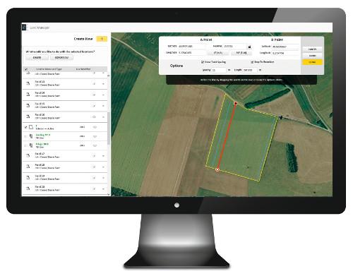 Conéctese con sus máquinas, operadores y campos en un sitio centralizado