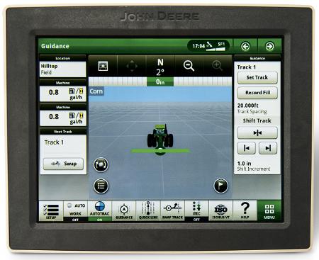 La pantalla táctil de 21,3 cm (8,4-in.) permite el soporte remoto y la Transferencia Inalámbrica de Datos