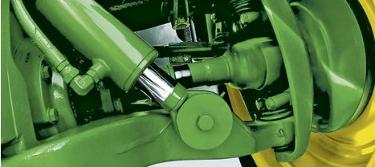 Excepcional comodidad de conducción gracias al sistema ILS en combinación con la suspensión de la cabina o ActiveSeat.