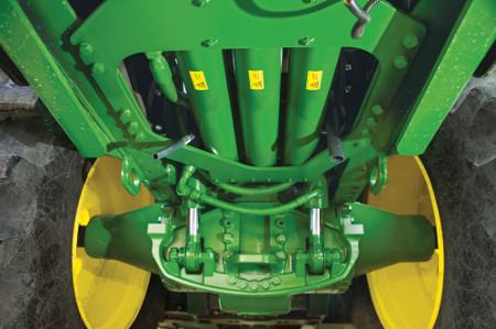 La suspensión HydraCushion es más cómoda y reduce la posibilidad de inestabilidades verticales con pérdida de tracción