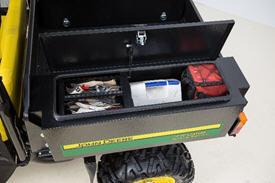 Caja de herramientas con acceso superior